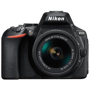 Nikon D5600 DSLR Camera with AF-P DX NIKKOR 18-55mm f/3.5-5.6G