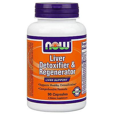 Now Foods Liver Detoxifier   Regenerator   90 Capsules   Healthy Cleanse Detox