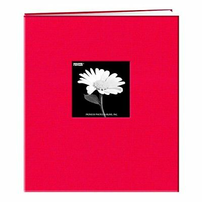 Frame Cover Memory Book - NEW Pioneer 8 1 2 Inch by 11 Inch Postbound Frame Cover Memory Book Apple Red
