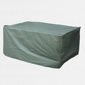 Waterproof 6 seater rectangular patio table cover garden for Waterproof outdoor furniture covers australia