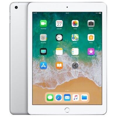 Apple IPad 9.7 2018 WiFi/WLAN 32GB silver MR7G2FD/A iOS Tablet PC Retina