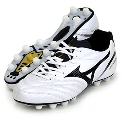 e9e3d49d6 MIZUNO Soccer Spike Shoes MONARCIDA 2 JAPAN P1GA1821 White Black  US9.5(27.5cm)