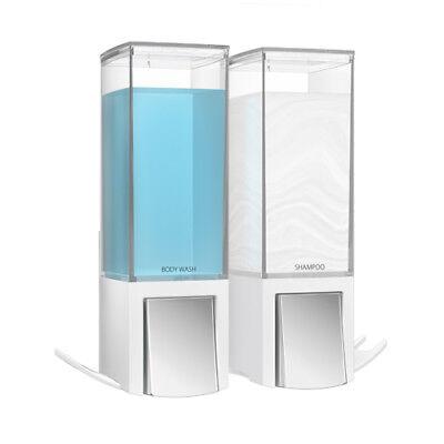 Clever II Seifenspender Wandmontage Seife Bad Spender Soap Dispenser weiß - Bad-spender