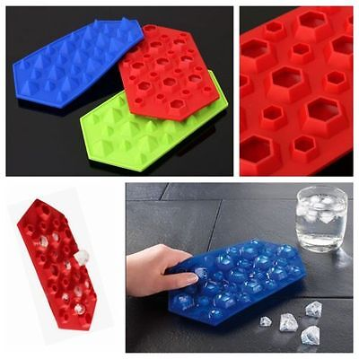 3D Diamond Wedding Party Silicone Soap mold Candy Chocolate Fondant Ice Cube