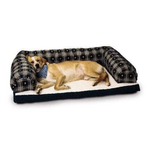 Large Bolster Dog Bed Ebay
