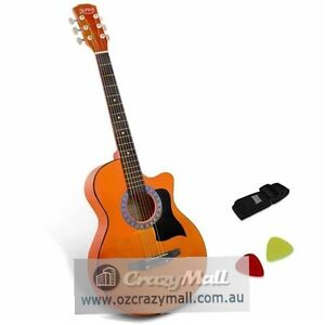"""38""""/41"""" Wood Auditorium Acoustic Guitar with Accessories Melbourne CBD Melbourne City Preview"""