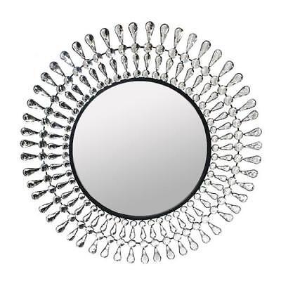 Metal Redondo Espejo de Pared Cristal Decoración 28