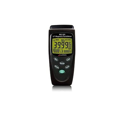 Latnex Mg-300 Gauss And Magnetic Field Meter W Protection Boot Black Case