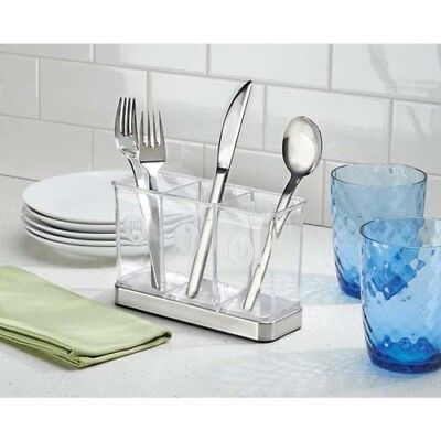 Forma Flatware Storage Non-Skid Compartment Utensil Organizer Silverware Holder