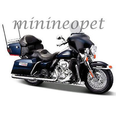 MAISTO 32329 2013 HARLEY DAVIDSON FLHTK ELECTRA GLIDE LIMITED MOTORCYCLE 1/12 BL