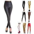 Leather Unbranded Machine Washable Pants for Women