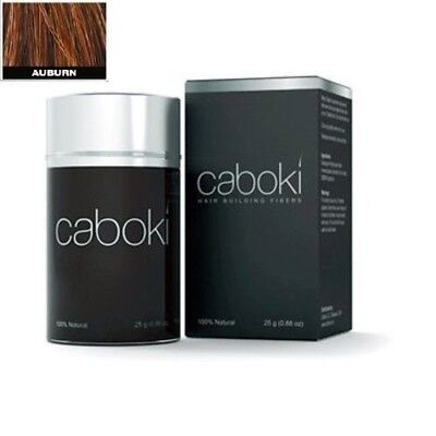 Caboki Auburn Color Hair Building Fiber, Hair Loss Concealer 25g in old version for sale  Shipping to India