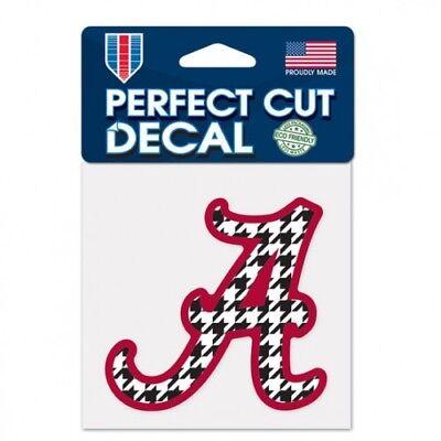 ALABAMA CRIMSON TIDE HOUNDS TOOTH WINCRAFT 4X4 DECAL STICKER  Alabama Crimson Tide Decals