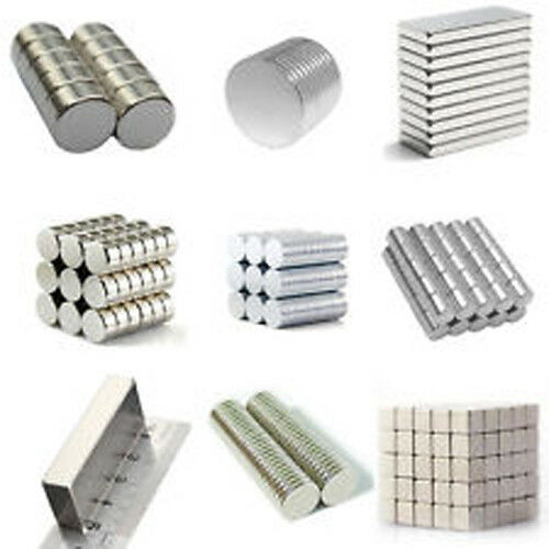 50 100 pcs round disc block magnets
