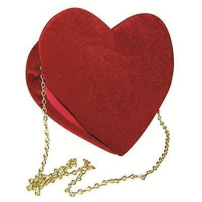 Rasta Imposta Velvet Red Heart Purse Costume