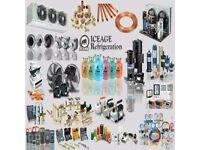 Refrigeration service and (small installation) kit - tools - equipment