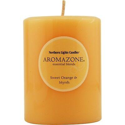 Sweet Orange & Myrrh Essential Blend One 3X4 Inch Pillar Essential Blends -