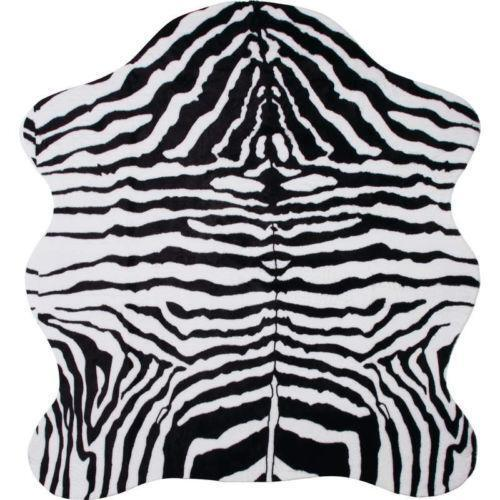 Zebra Print Rug Ebay