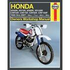 Haynes CRF Motorcycle Repair Manuals & Literature