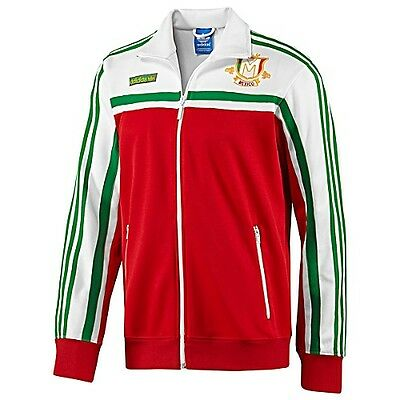 Adidas Originals MEXICO firebird Track Top sweat shirt Jacket superstar~Men sz L