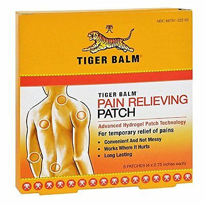 5 Pack - Tiger Balm Patches 5 Patches Each