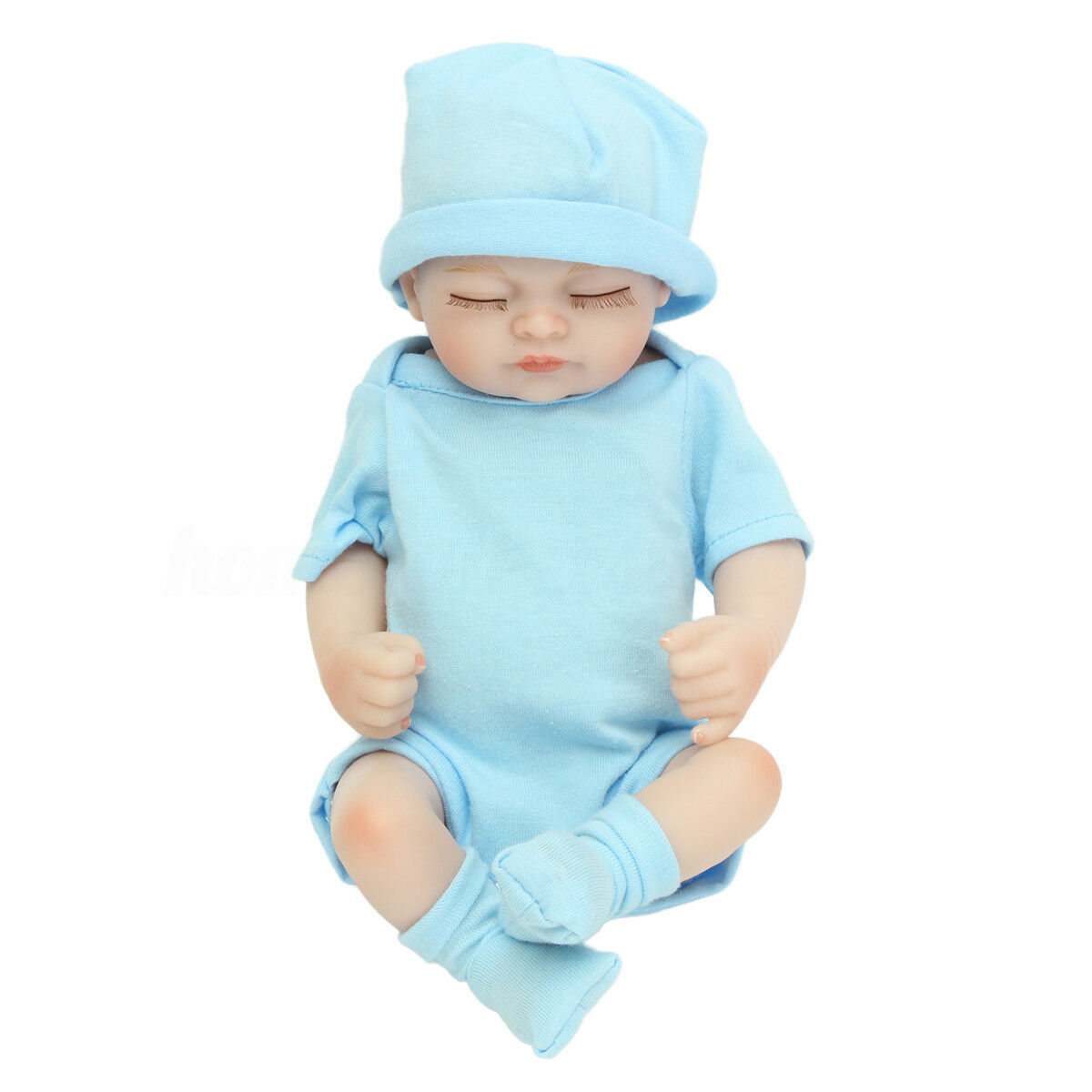"11"" Handmade Reborn Girl Real Looking Newborn Baby Vinyl Silicone Realistic Doll"