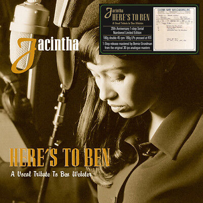 Jacintha Heres To Ben A Vocal Tribute To Ben Webster One Step Numbered Limited