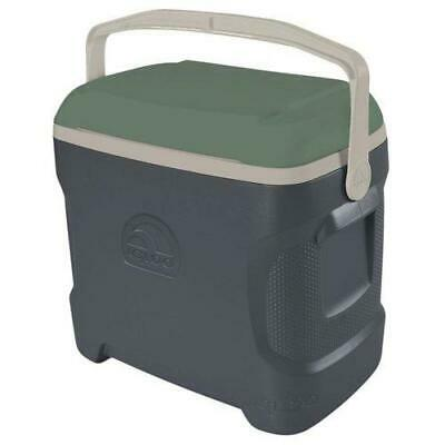 IGLOO SPORTSMAN 30 COMPACT CONTOUR 28 LITRE COOL BOX GREY / GREEN CAMPING SPORTS
