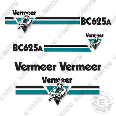 Vermeer Bc 625 A Wood Chipper Decal Kit
