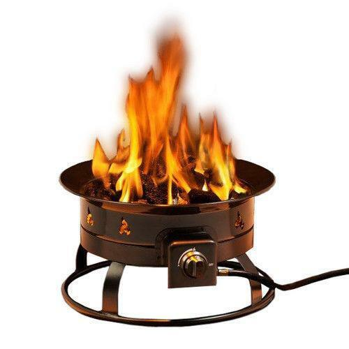 Portable Gas Fire Ring