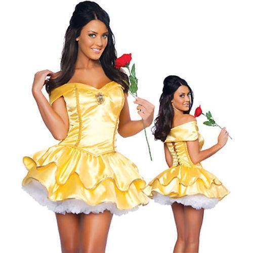 beauty and the beast costume ebay
