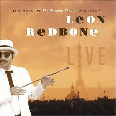 Leon Redbone - Live December 26 1992 Olympia Theater Paris France [New CD] Leon Redbone Live