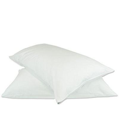 Luxury Hotel Collection Plain Pillow Protectors - Zipper - S