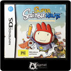 Nintendo DS Video Games Super Scribblenauts