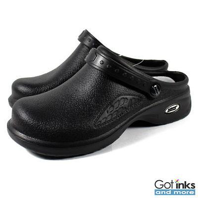 Women's Medical Nursing Ultralite Clogs w/ Heel Strap Non-Slip Light Shoes