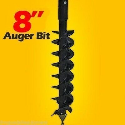 8 X 4 Skid Steer Auger Bitfits Any 2 Hex Drive Shaft Mfg By Mcmillen Usa