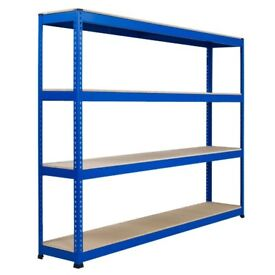 Pallet Racking for warehouse/garage/office. 16 bays available,can buy all or 1 bay. 2.4m wide OFFFER