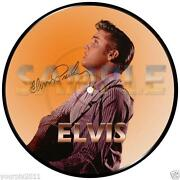 Signed Elvis Picture