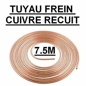 tuyau frein tube cuivre circuit de freinage voiture diam 4 75 mm long 7 5 m tres ebay. Black Bedroom Furniture Sets. Home Design Ideas