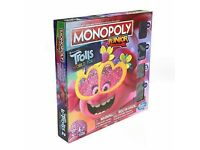 Monopoly Junior, DreamWorks Trolls World Tour Edition Board Game for Children 5
