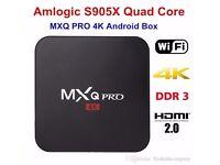 MXQ Pro S905X Android 6.0 Smart TV BOX 4K HD 1G RAM 8G ROM Quad Core WiFi