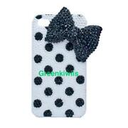 Black Bling iPhone 4 Case