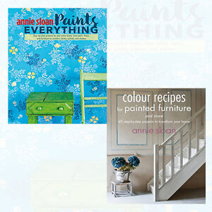 Annie Sloan Collection 2 Books Set NEW Colour Recipes for Painted,Paints Everyth