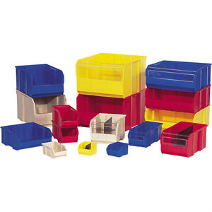 Plastic Storage Bins, Sand & Salt Containers, FDA Compliant