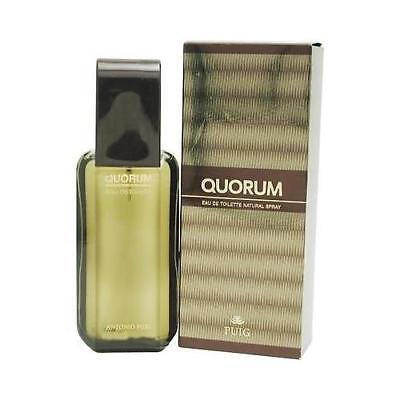 Quorum by Antonio Puig 3.4 oz EDT Cologne for Men New In Box