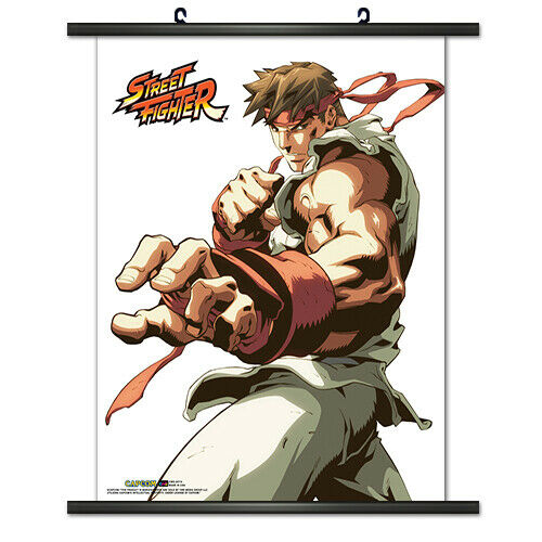 "WALL SCROLL | Street Fighter 2 II | 16"" x 19"" 