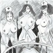 Original Zeichnung