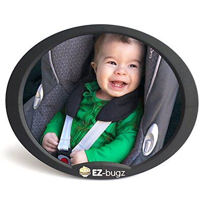 Baby Car Mirror For Rear Facing Child Seats, Big   Clear View Of Your Newborn In