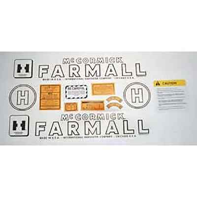 Mylar Decal Set For Farmall H Tractors.