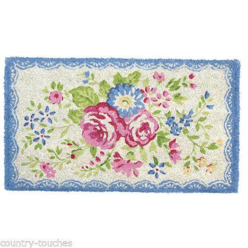 Floral Door Mat Ebay